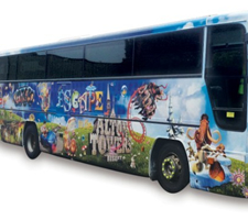 Alton Towers Buses