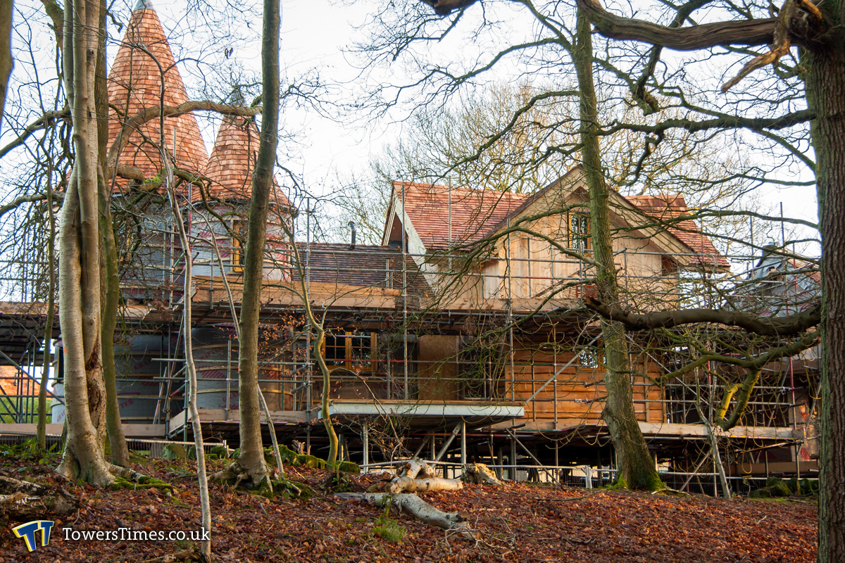 The Enchanted Village Construction Update 3rd January