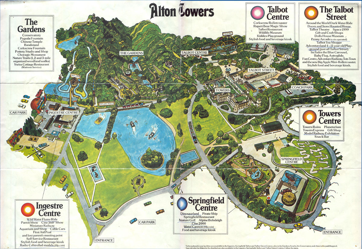 Old Park Maps - TowersTimes