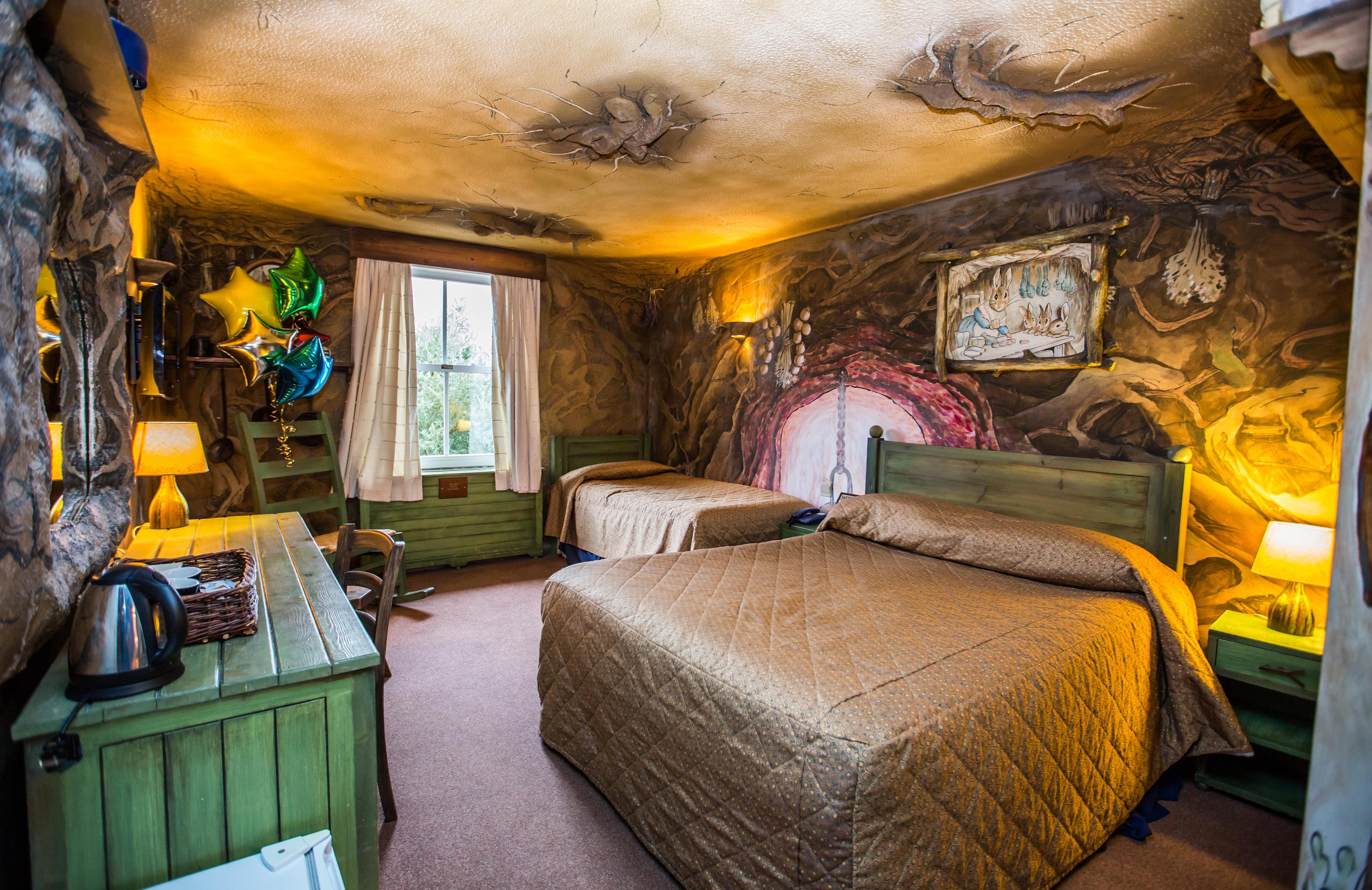 Triple And Double Rooms At Alton Towers Hotel