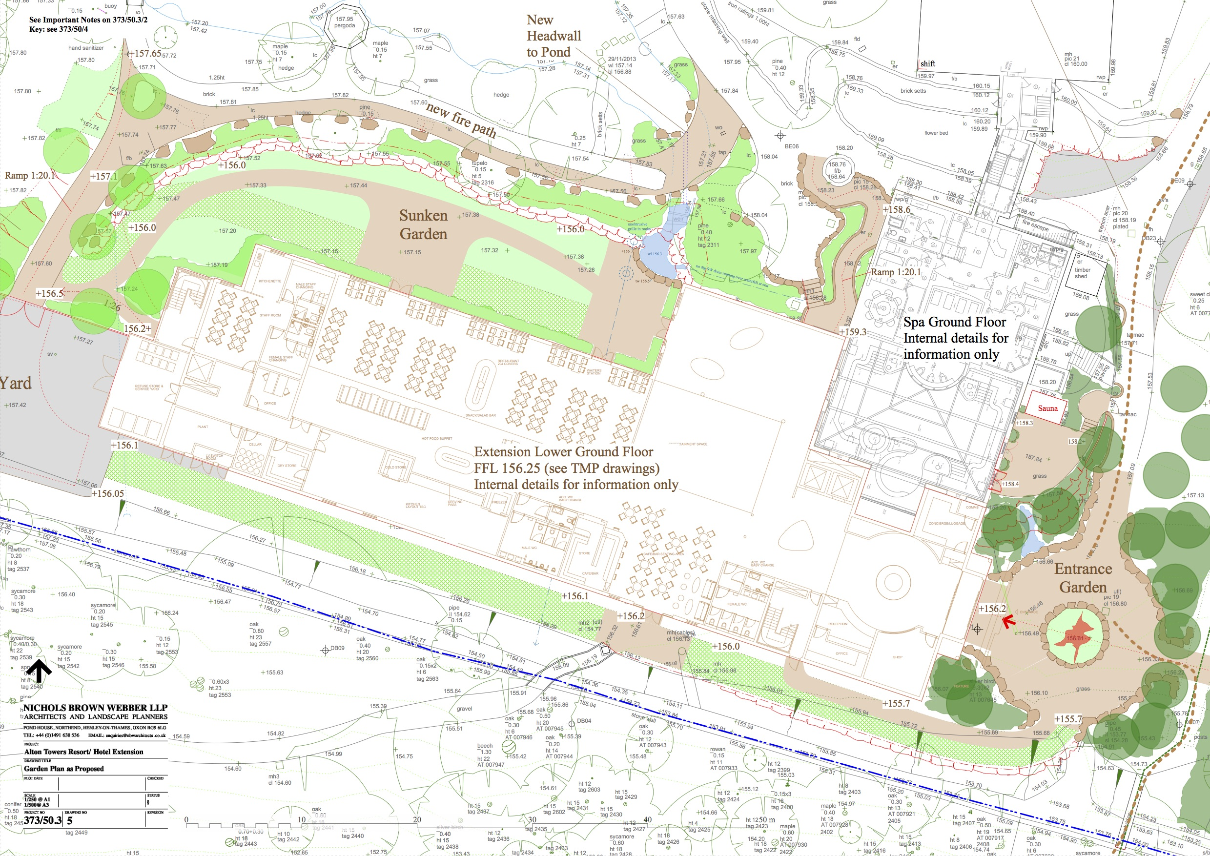 New Alton Towers Hotel Extension and Restaurant Plans ... on Backyard Layout Planner id=65292