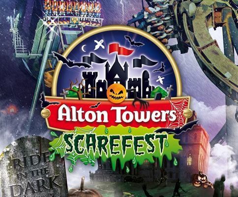 Image result for alton towers halloween