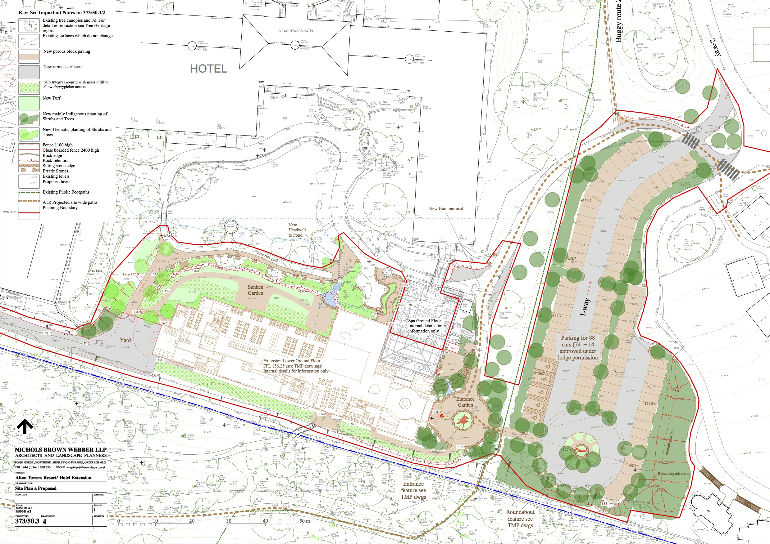 New alton towers hotel extension and restaurant plans for Planner site