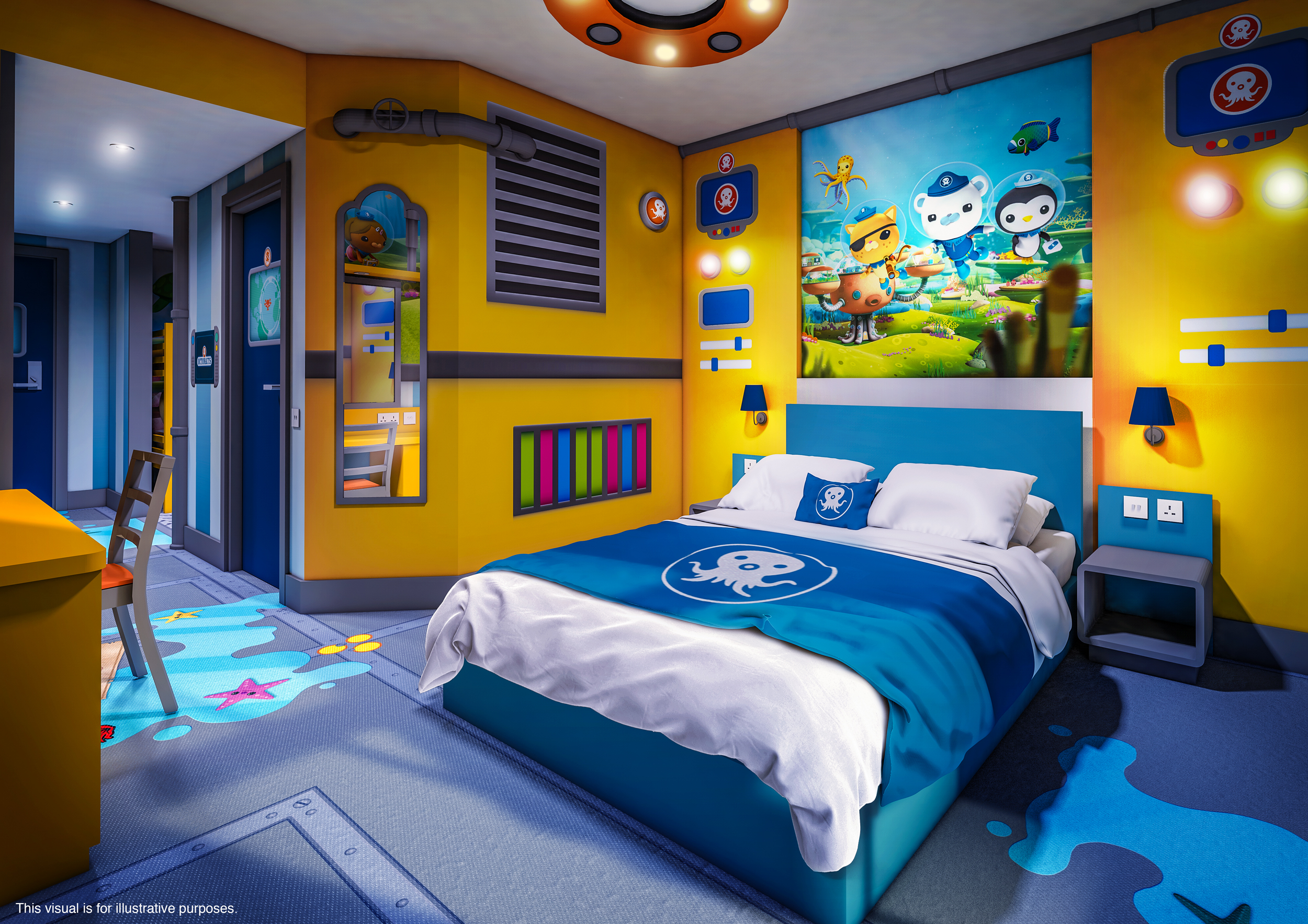 Rooms: Full Details Confirmed For CBeebies Land Hotel