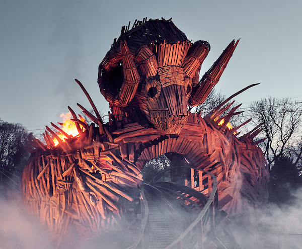 Alton Towers Resort Reveal First Official Images of Wicker Man