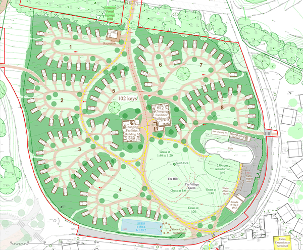 Plans for Alternative Enchanted Village Expansion Submitted by Alton Towers Resort