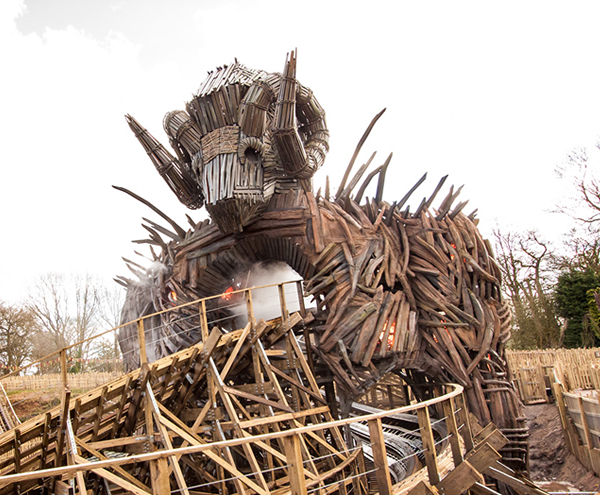 Wicker Man – 'Meet The Maker' at Alton Towers Resort