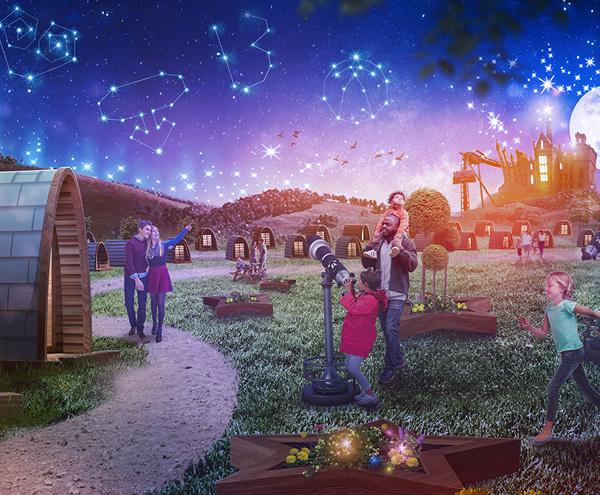 Further Details and Pricing Revealed for Alton Towers Stargazing Pods