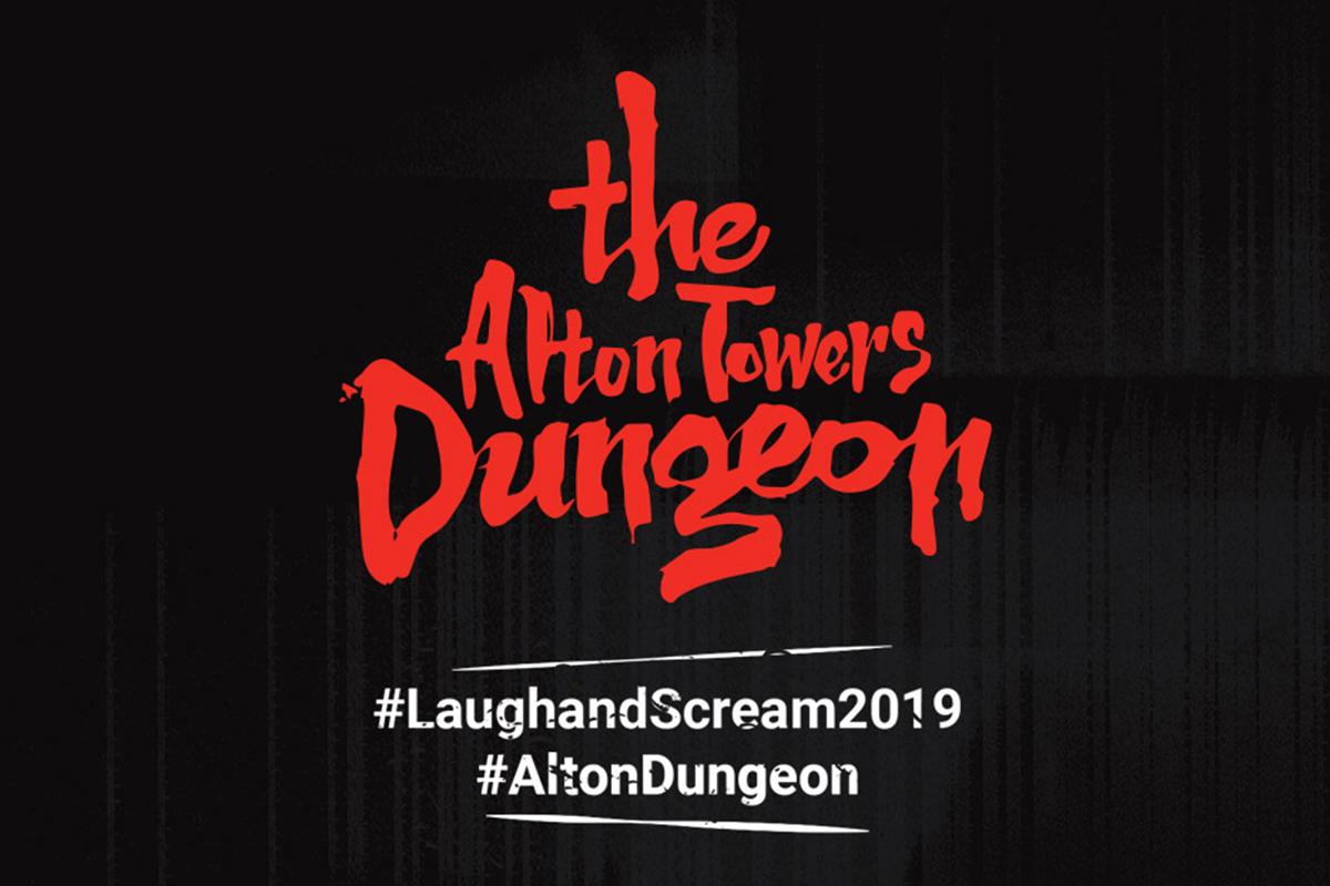 Alton Towers Dungeon Logo