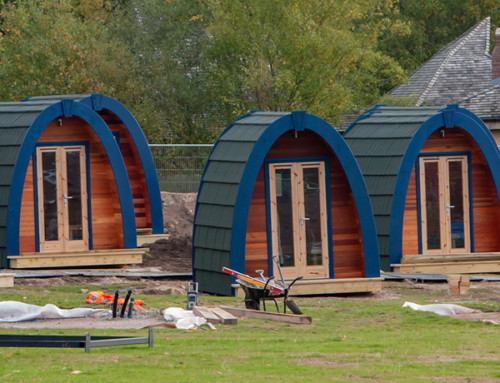 Alton Towers Stargazing Pods Construction Update – 30th October 2018