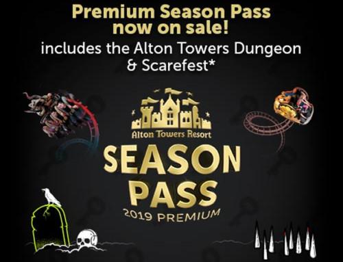 Alton Towers Resort Launch Premium Season Pass