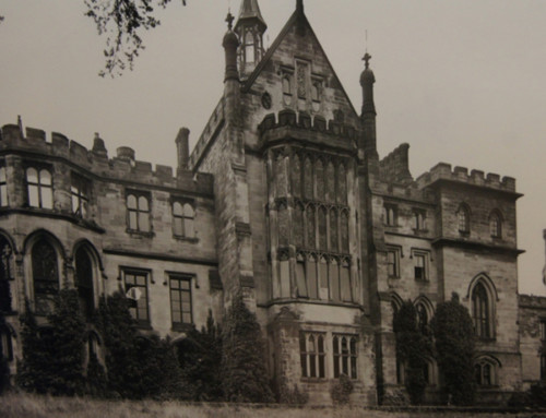 Alton Towers to Restore Banqueting Hall Window