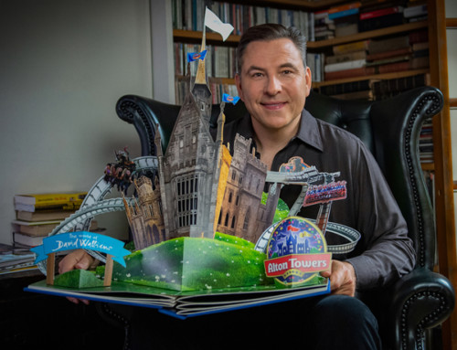 The World of David Walliams arriving at Alton Towers Resort